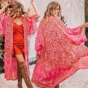 Hot Pink 🌸 Coverup long summer dress